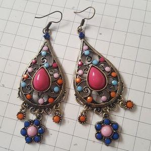 Jewelry - Organica Natural Handmade Earrings NWT